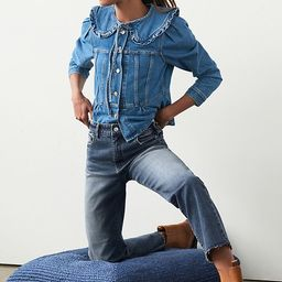 Pilcro The Vintage Straight Jeans | Anthropologie (US)