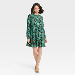Women's Long Sleeve Babydoll Dress - Knox Rose™ | Target