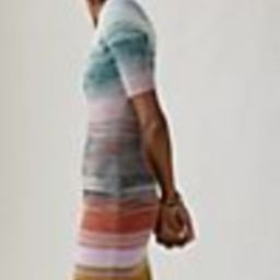 Space-Dyed Knit Midi Dress | Anthropologie (US)