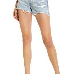 501™ Ripped Cutoff Denim Shorts | Nordstrom