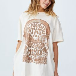 The Relaxed Boyfriend Graphic Tee | Cotton On (AU)