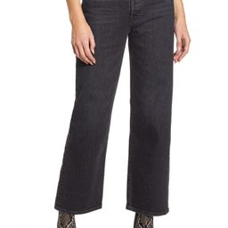 Ribcage High Waist Ankle Straight Leg Jeans | Nordstrom | Nordstrom