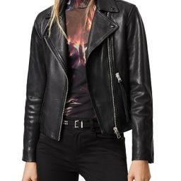 ALLSAINTS                                                                Dalby Leather Biker Jack... | Bloomingdale's (US)