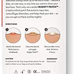 Mighty Patch Original from Hero Cosmetics - Hydrocolloid Acne Pimple Patch for Zits and Blemishes...   Amazon (US)