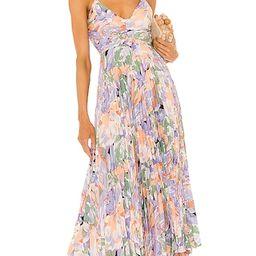 Blythe Dress in Coral Multi | Revolve Clothing (Global)