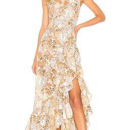 Sicilia Ruffle Dress in Multi | Revolve Clothing (Global)