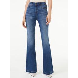 Scoop Women's High-Rise Flare Jeans | Walmart (US)