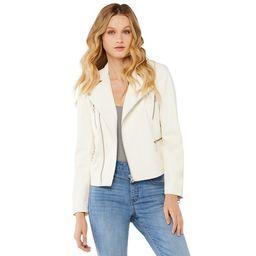 Scoop Women's Faux Leather Moto Jacket | Walmart (US)