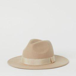 Wool Hat, Fall Hat, Fall Fashion | H&M (US)