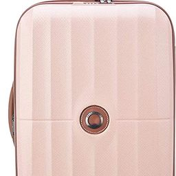 DELSEY Paris St. Tropez Hardside Expandable Luggage with Spinner Wheels, Pink, Checked-Medium 24 ... | Amazon (US)
