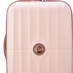 DELSEY Paris St. Tropez Hardside Expandable Luggage with Spinner Wheels, Pink, Carry-on 21 Inch | Amazon (US)