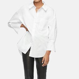 ANINE BING Mika Shirt In White   Anine Bing