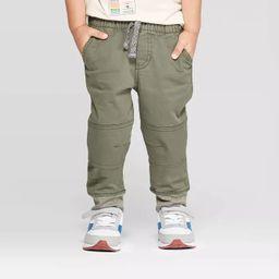 Toddler Boys' Pull-On Pants - Cat & Jack™ Olive 3T   Target