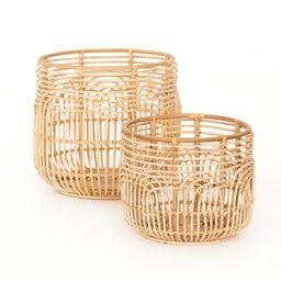 Holt Baskets - Set of 2   THELIFESTYLEDCO