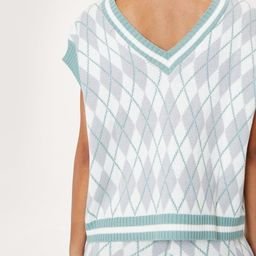 Knitted V Neck Tank Top and Pants Lounge Set   NastyGal (UK, IE)