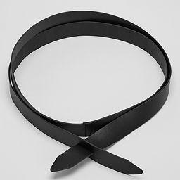 Vegetable Tanned Italian Leather Wrap Belt   Eileen Fisher