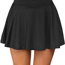 COOrun Womens Pleated Tennis Skirts with Shorts and Pockets Athletic Skort for Golf Sport Running... | Amazon (US)