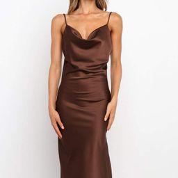Cyprus Dress - Brown   Petal & Pup (US)