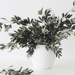 "White Concrete Konos Vase - 10.75"" Tall   Afloral (US)"