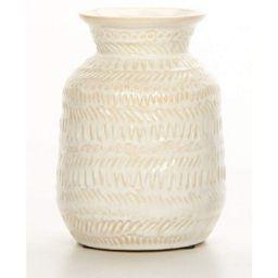 Cream 6.89'' Ceramic Table Vase   Wayfair North America