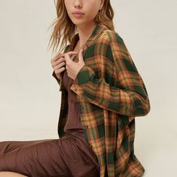BDG Keanu Flannel Button-Down Shirt | Urban Outfitters (US and RoW)