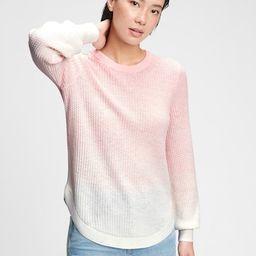 True Soft Textured Crewneck Sweater | Gap (US)