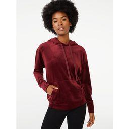 Scoop Women's Velour Sweatshirt | Walmart (US)