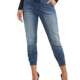 Sofia Jeans by Sofia Vergara Women's Paula Knit Denim Joggers | Walmart (US)
