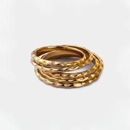 Luna Ring Set   Victoria Emerson