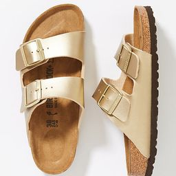 Birkenstock Arizona Sandals By Birkenstock in Gold Size 38 | Anthropologie (US)