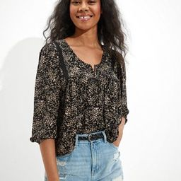 AE Embroidered Blouse | American Eagle Outfitters (US & CA)