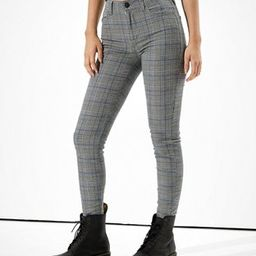 AE High-Waisted Plaid Jegging | American Eagle Outfitters (US & CA)