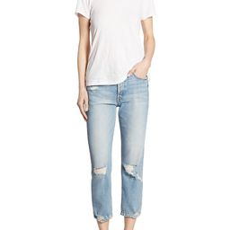 The Tomcat High-Rise Straight-Leg Distressed Jeans | Saks Fifth Avenue