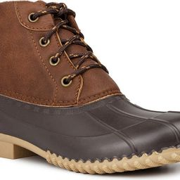 Lace Up Duck Boot   Nordstrom Rack