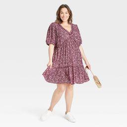 Women's Short Sleeve Tiered Dress - Knox Rose™   Target