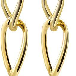 earrings for women Gold plated Sterling Silver Stud Earrings Women's Fashion Earrings Hypoallerge...   Amazon (US)