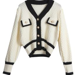 'Debbie' Embellished Button Cardigan (2 Colors) | Goodnight Macaroon