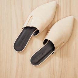 Oiled Leather Mule - Natural | Jenni Kayne | Jenni Kayne