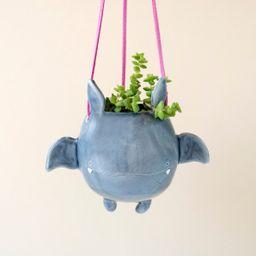 Flying Bat Hanging Plant Holder. A Cute Bat Shaped Hanging | Etsy | Etsy (US)