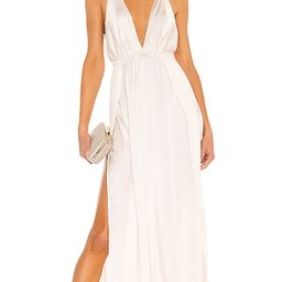 River Maxi Dress in Opal | Revolve Clothing (Global)