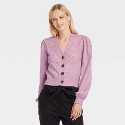 Women's Shruken Cardigan - Who What Wear™ | Target