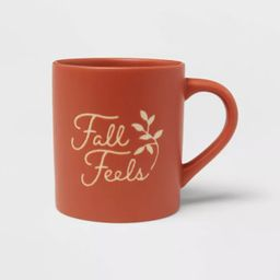16oz Stoneware Fall Feels Mug - Threshold™ | Target