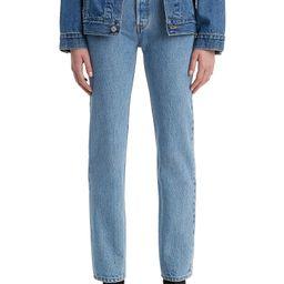 501® High Waist Straight Leg Jeans   Nordstrom