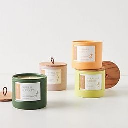 Hive & Wick Market Ceramic Candle | Anthropologie (US)