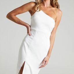 Where And When Dress in White   Showpo