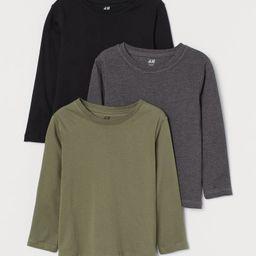 3-pack Jersey Shirts | H&M (US)