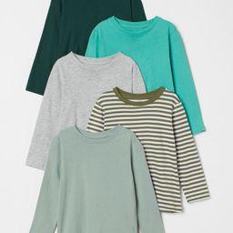 5-pack Jersey Shirts | H&M (US)