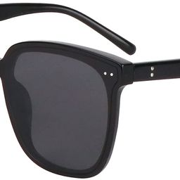 Square Sunglasses for Women and Men,Trendy Oversized Shades with UV Protection SW09 Acetate Frame... | Amazon (US)