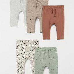 5-pack Cotton Pants | H&M (US)