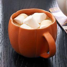 Pumpkin Shaped Stoneware Mugs | Pottery Barn (US)